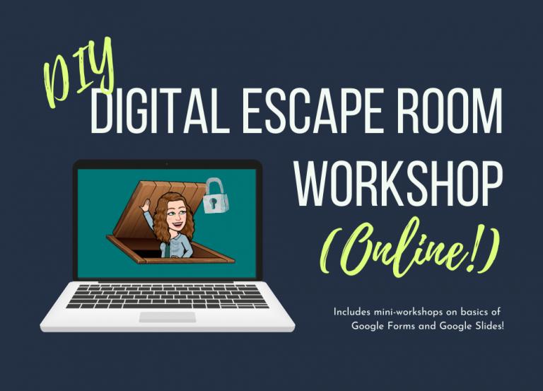 DIY Digital Escape Room Workshop