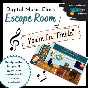 Digital Music Class Escape Room